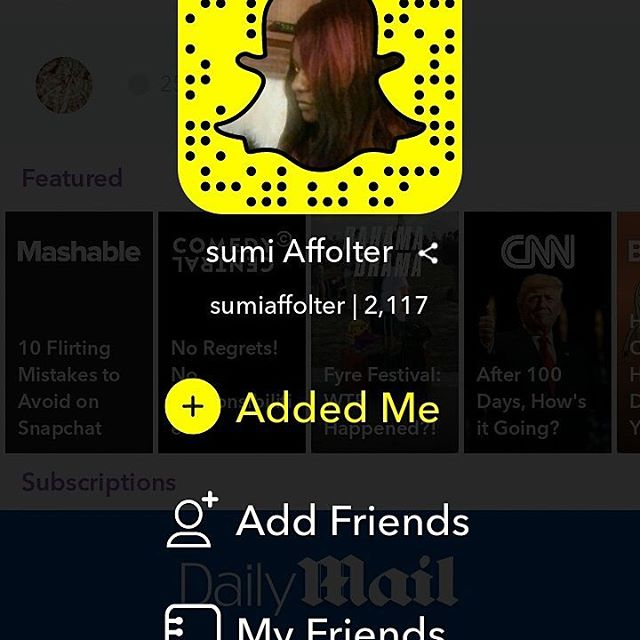 Add me on snapchat 'sumiaffolter' search for @sumiaffolter and add me on snapchat thank you