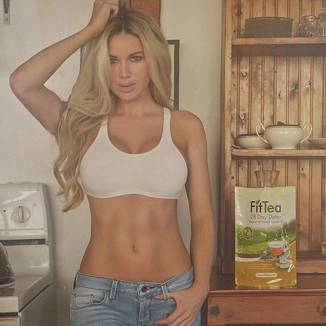 After a busy day I love #relaxing at the #cottage with a cup of @fittea ☕️ #fittea #fitgirl #detox #teatime