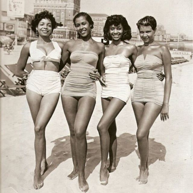 1950's black women ❤️