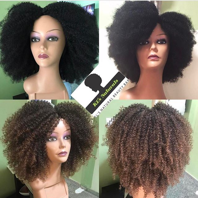 Having a bad hair day? Need a protective style to match your Kinky tresses? Or you just want to switch up your look? @klsnaturals Our Kinky Crochet units are a perfect solution! U part units and full wigs available. Mail info@klsnaturals.com for availability and orders.