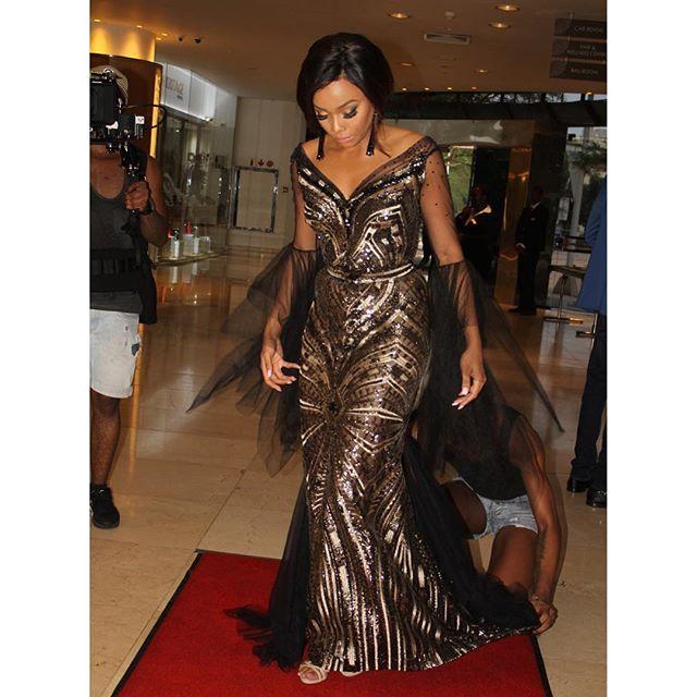 .....Sparkle & shine!! 👌👑🐝 #MMA16 #blackgirlmagic #redcarpet