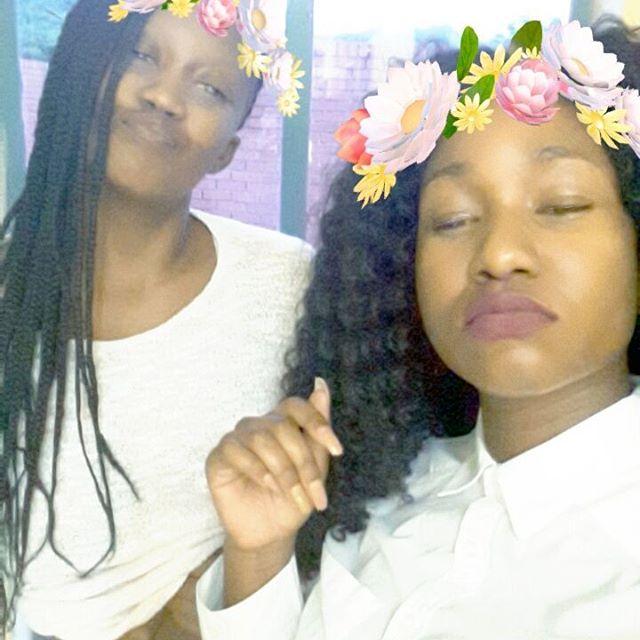 With the BAE ❤❤ @madeleinefulufhelou