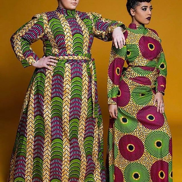 Loving both designers @kairosshoppers 🔥🔥🔥 A platform supporting African inspired emerging designers @kairosshoppers.. follow them.. & sign up for their newsletter on their website: Thank me later @kairosshoppers 😘