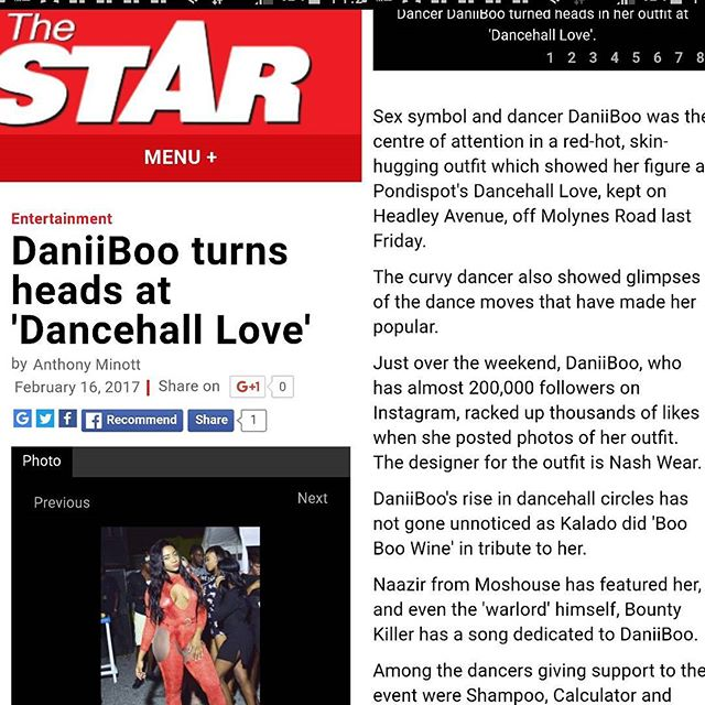 Go check out today's Star 😍 @nash_di_designer😘😘😘 @pondispot.tv