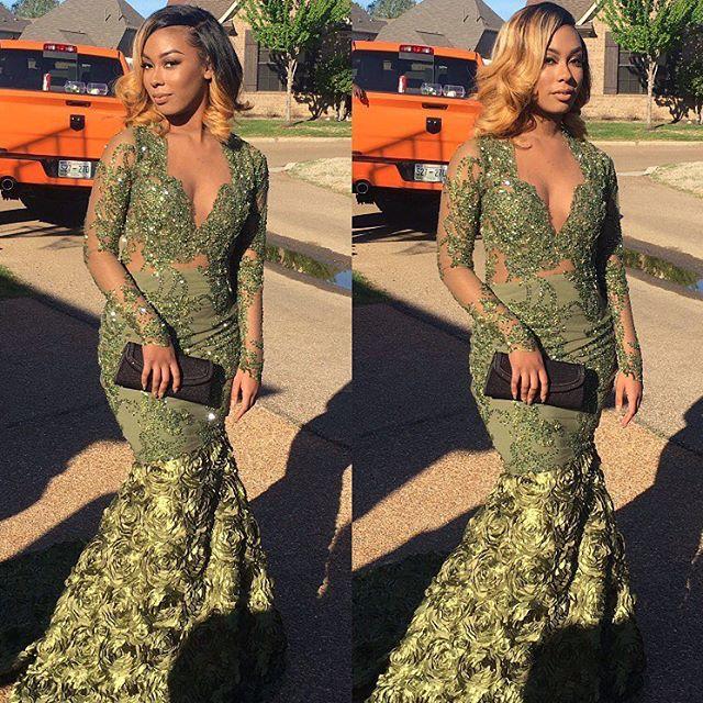 Prom Queen 💚 @lanarie_
