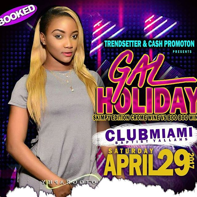 Done know seh from mi a reach you fi reach #booked St.Thomas 😍 look out fi mi #April29 @pondispot.tv