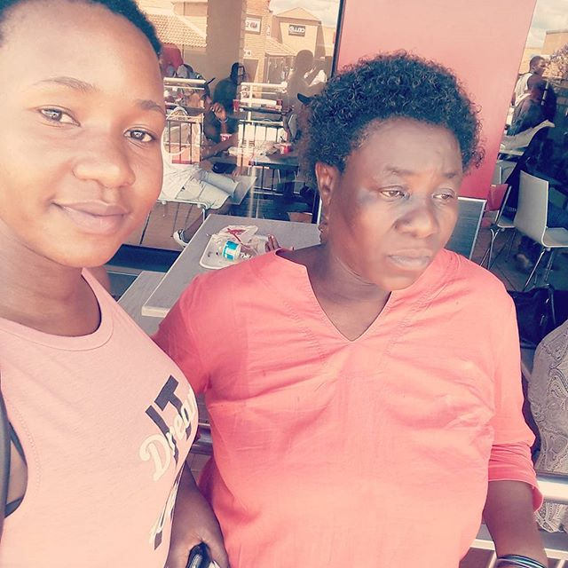 Look who decided to show up today 😗😗😋😀😀😀 ..... the things she says though 😂😂 Mommy dearest ❤❤