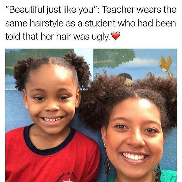 So empowering. #blackgirlmagic ❤️