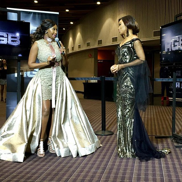 Interviews with @sinazoyolwa..... #MMA16 #redcarpet #blackgirlmagic