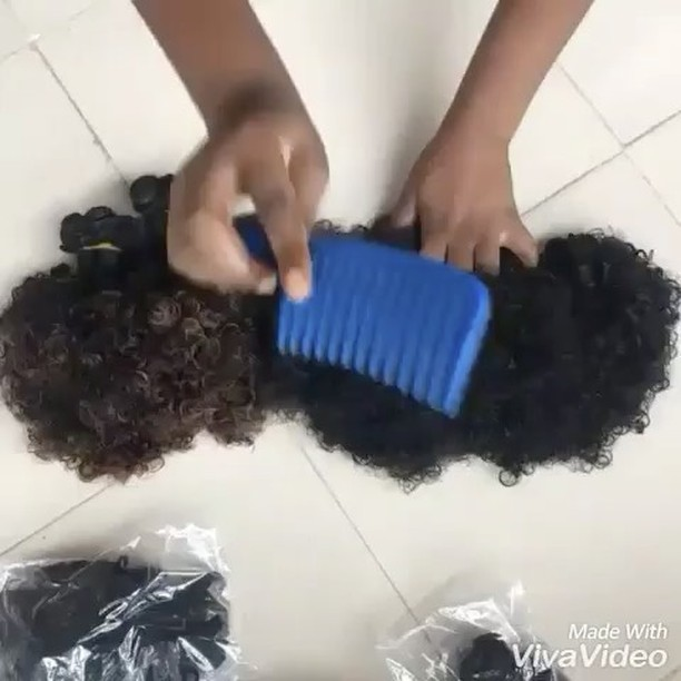 @house_of_jemima_products We r here again guys, This time we would be having a promo on our virgin, bouncy, fluffy, lush, soft and adorable Indian curly hair, This awesometastic and yummy hair would be going for an unbelievable price of just 20500 for a full head, very ridiculous right buh soo true guys, this hair is extremely durable and easy to maintain Cuz of its extremely bouncy and fluffy nature, Hair is also available in natural and ombre color. Hair is also very limited in stock so Start placing your orders dearies cuz this hair is definitely a must have. Very affordable also. Call/whatsapp 08139540210 for order placement or send us a dm. Buy now or regret laterrr