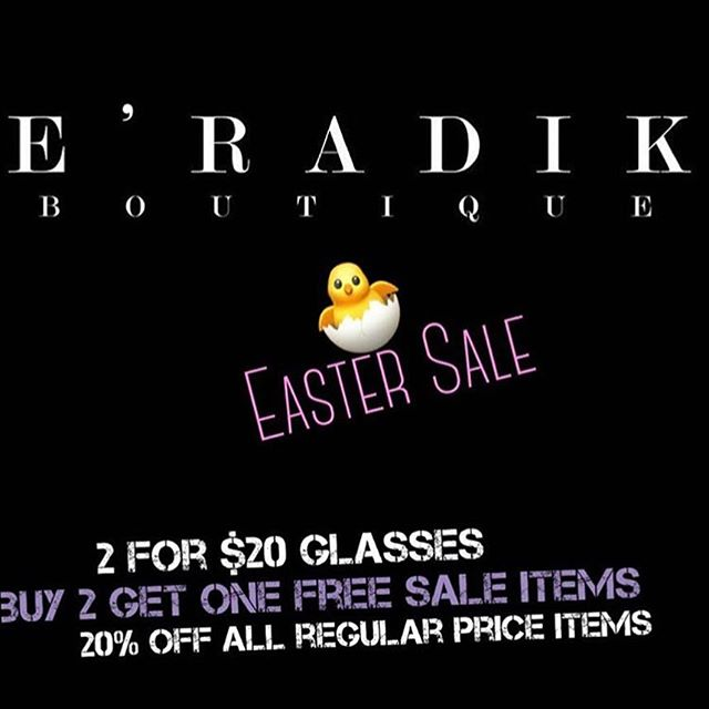Happy Easter From Eradik Boutique 🐰