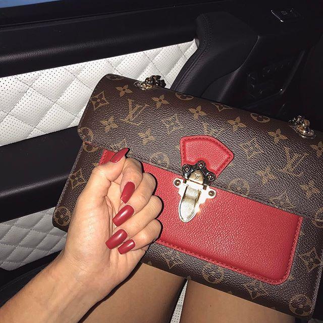Red to match my purse 🍒  @adoredollsparlour