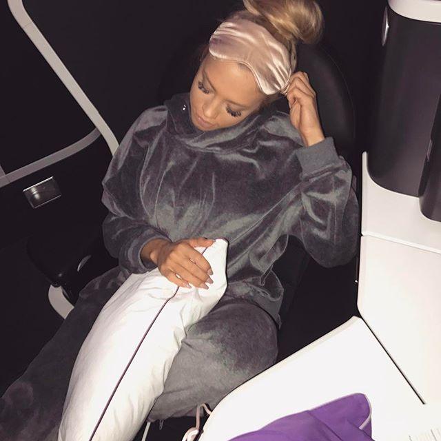Comfy 😴✈️ I'll be back soon LA ♥️