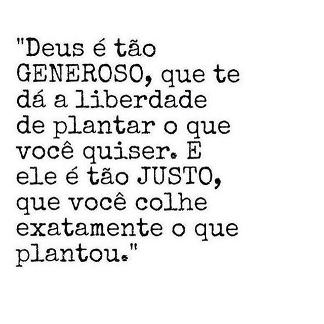 Exatamente 👌🏼 Plante o bem 🙏🏼✨