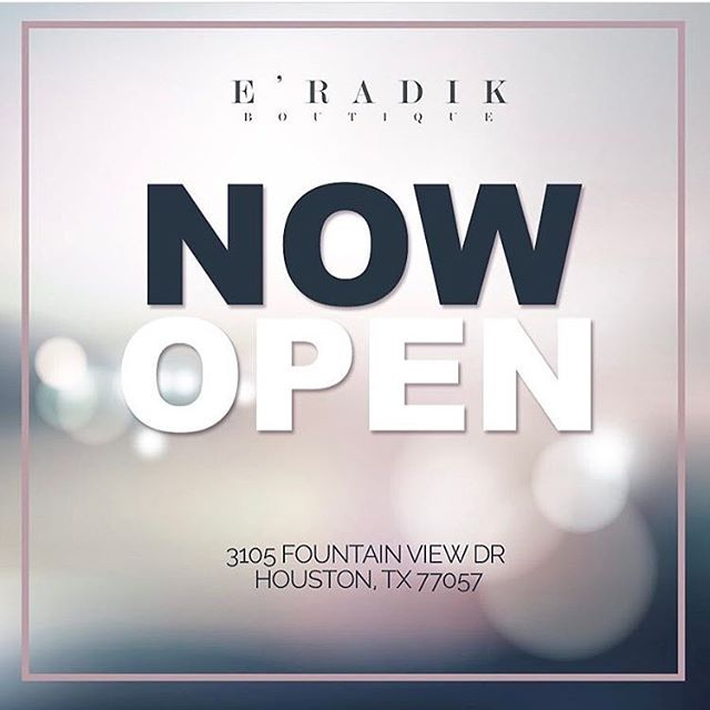 We Are Now Open 🔥
