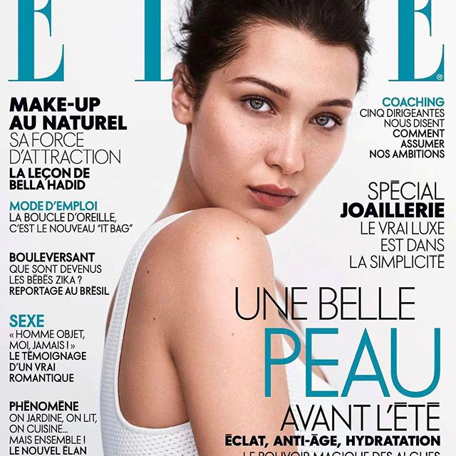 Elle France cover for @Diormakeup in @dior by @stevenpanpan 🦋