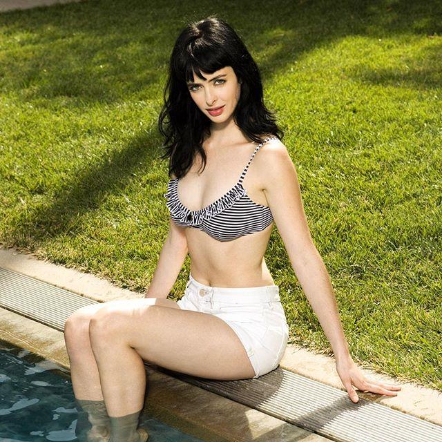 Krysten Ritter #krystenrittersc #krystenritter #sexy #celebrity #hot #actress #darkhair