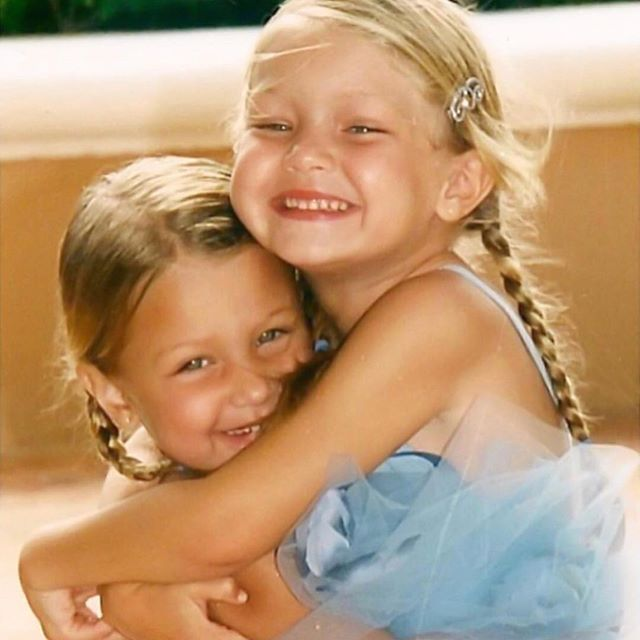 Happy birthday to my best friend FOR F**king LIFE!!!!!!!! 🦋❤️🦋❤️💘💘💘💘My role model! My person. I feel so lucky every day to call you my sister. I didn't know anyone could be so generous, smart, funny, talented, hard working, artistic, loving, respectful AND beautiful all at the same damn time!!! You make me laugh until I pee and even when I don't want to smile, you are just about the only person that can make me. 🤣Every one that knows you, immediately feels the incredible energy that radiates throughout you. ✨✨Thank you for always being yourself, nothing more and nothing less. You are my other half & I don't know what I would ever do without you. I love you with all of my heart Squeegee. ❤️🌈💫🔥 @gigihadid