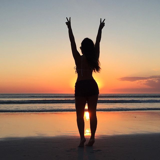 Resolveu que queria sol, mar e paz..✌🏻️✨