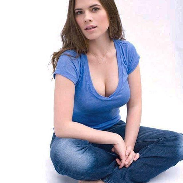 Hayley Atwell #hayleyatwellsc #hayleyatwell #sexy #celebrity #hot #actress #beautiful #beauty #brunette
