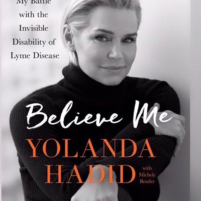 "Mama, ❤️I'm so proud of you for opening up about a very important and sensitive part of our lives. You didn't choose this path for yourself, nor did you choose to victimize yourself. Instead you continued to raise me, my brother and sister in the best way possible, wrote a book to help all of those suffering around the world, and slowly but surely found your happiness again. Whether that be with Lyme Disease, mental wellness, immune diseases or just being understood in general. I know how hard it was for me to see how much you struggled in the past few years and vice-versa, but to see others constantly judge you and doubt you while you were down was even worse.  Hundreds of doctors appointments around the world, uncountable medications and IVs, remedies, the blood, the pain and tears... to help yourself and help people around the world find their voice, find a proper cure and a proper diagnostic. My whole life, I never saw you anything less than 'tough as nails' so every time you would look at me with tears in your eyes, pain in your bones, bruises on your body from all the needles, in the fetal position, and ask me when this would all be over... I would always say ""it will be over soon mommy"" without never really knowing the answer. Now I can finally say you are coming out of this stronger than ever. Thank you for being so strong and speaking up about our journey. I am so proud and I love you ❤️ ""Believe me"" is available for Pre-order now on Amazon 😇 #LymeDiseaseAwareness @yolanda.hadid"