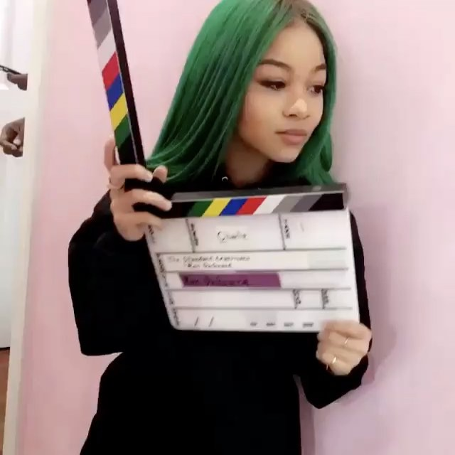 """Even WolfTyla 🐺 @wolftyla gets her hair laid by @bshahair out in Babylon NY get special discount of 20% off using coupon code :BSHAKITTY place your orders using (877 424 BSHA)"""""""