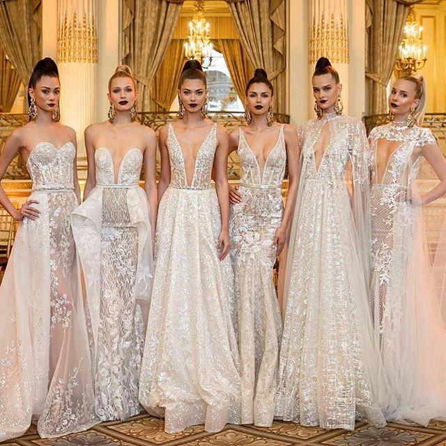 @bertabridal #BERTHA 2018 Bridal Collection. Pic @briandorseystudios . @tedgibson @justbbeautiful @mariaelenaheadpieces  @bowenfilms