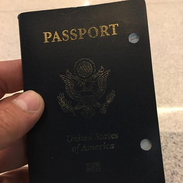 Passport no bueno !