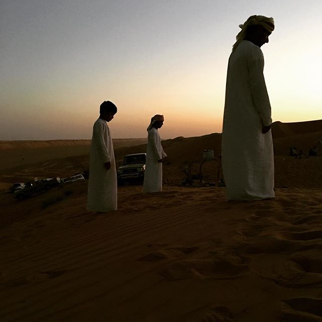 Evening prayer #Oman