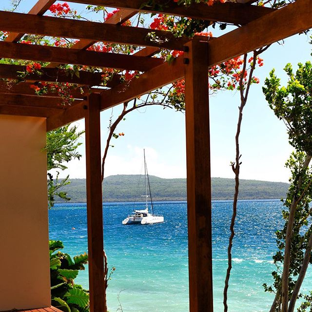 Sun deck 💛 #Vanuatu || BrieaDior.com