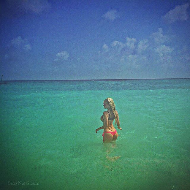 💙 #love #swimming in the #ocean 🌊 #Barbados 🐠 #IslandLife 💙
