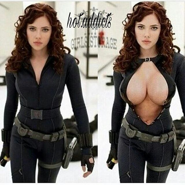 Left or right?? #ScarlettJohansson 🔥🔥🔥🔥🔥🔥🔥🍼🍼🍼🍼💦💦 Follow this Account for more updates