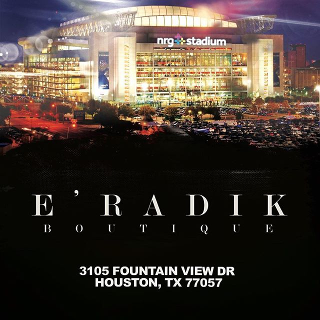 Houston Location #BeEradik 👑
