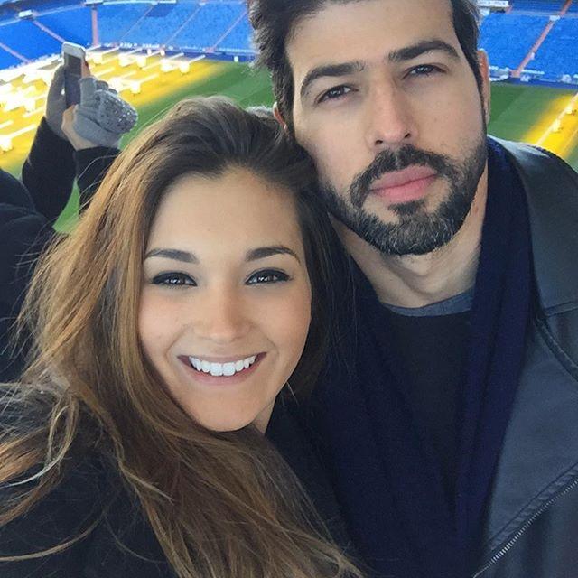 Passando frio em Madrid ❄️❤️