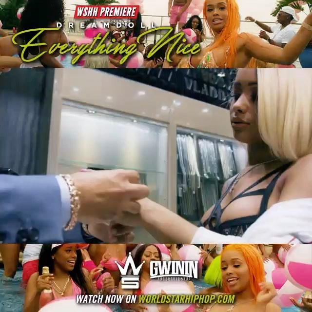 "Go to @Worldstar and watch my newest video""Everything Nice"" now"