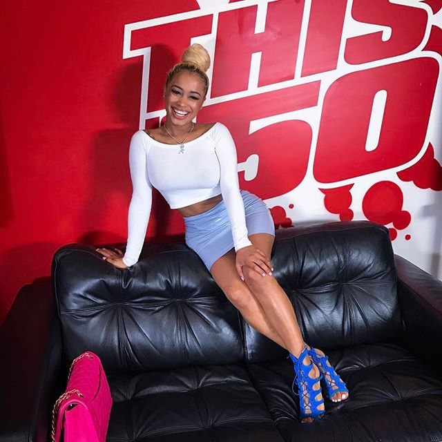 Just finished my interview @thisis50 stay tuned to tea with dream 💋