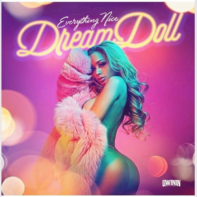 "Stop what your doing and go check out My first single ""EVERYTHING NICE"" Link is now in my bio. Thank you guys for all the support I love you! & stay tuned to what's coming from the desk of DREAMDOLL 💪🏼 #TEAMDREAM #GWININENTERTAINMENT #TALKTOMENICE #EVERYTHINGNICE #DREAMDOLL"